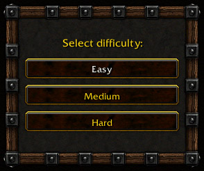 select difficulty