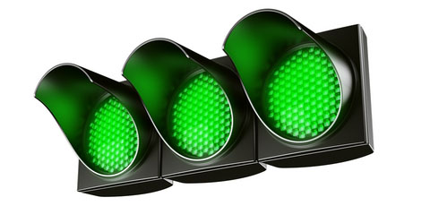 Image result for green light